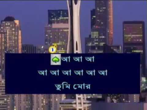 Tumi Mor Jiboner Vabona | Bangla Karaoke With Lyrics