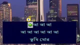 Tumi Mor Jiboner Vabona | Bangla Karaoke With Lyrics