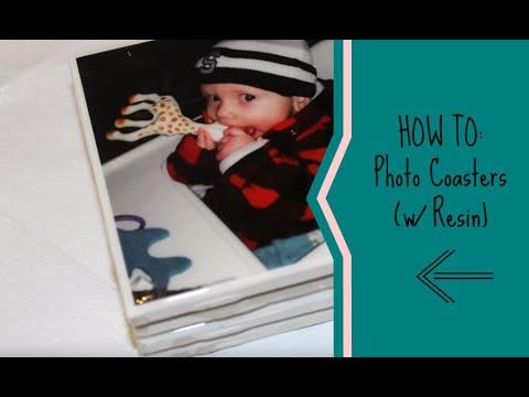 HOW TO: Photo Coasters (w/Resin)