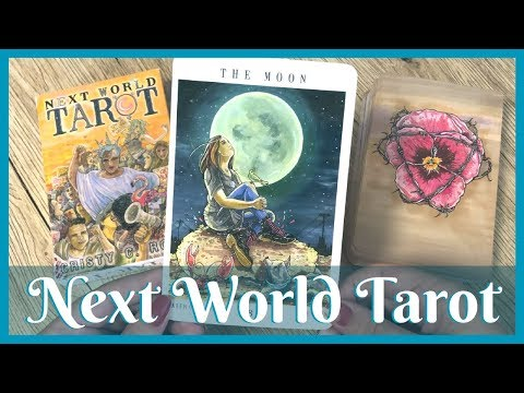 Next World Tarot by Cristy C Road  |  Full Flip Through + (almost) First Impressions