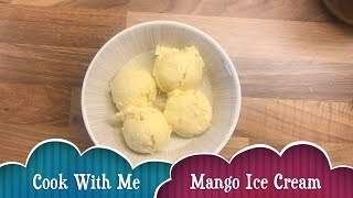 Home made mango ice cream (eggless) recipe with only 3 ingredients | without any ice cream maker