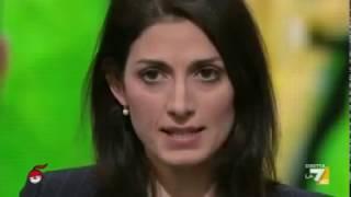 Virginia Raggi (M5S) a Dimartedì (INTEGRALE) 17/1/2017