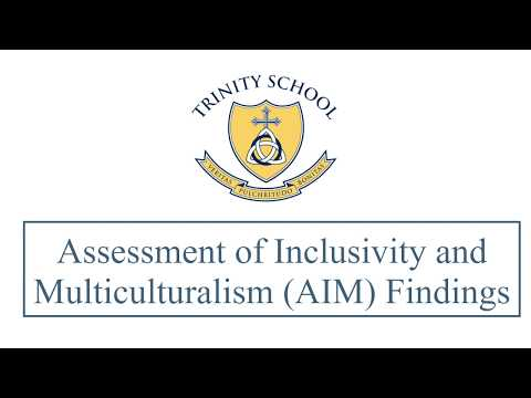 Trinity School AIM Findings
