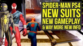 Spider Man PS4 New Suits & Suit Powers, Max Level, NEW GAMEPLAY & Way More! (Marvels Spiderman PS4)