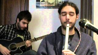 Tunes in A - Low whistle & guitar (2011)