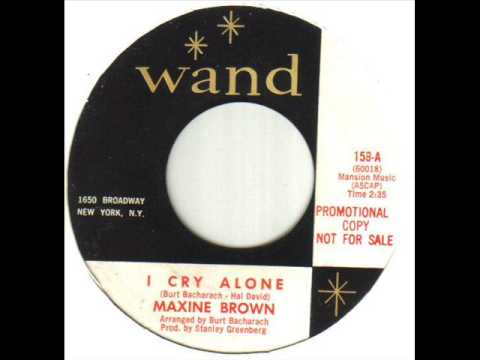 Maxine Brown I Cry Alone