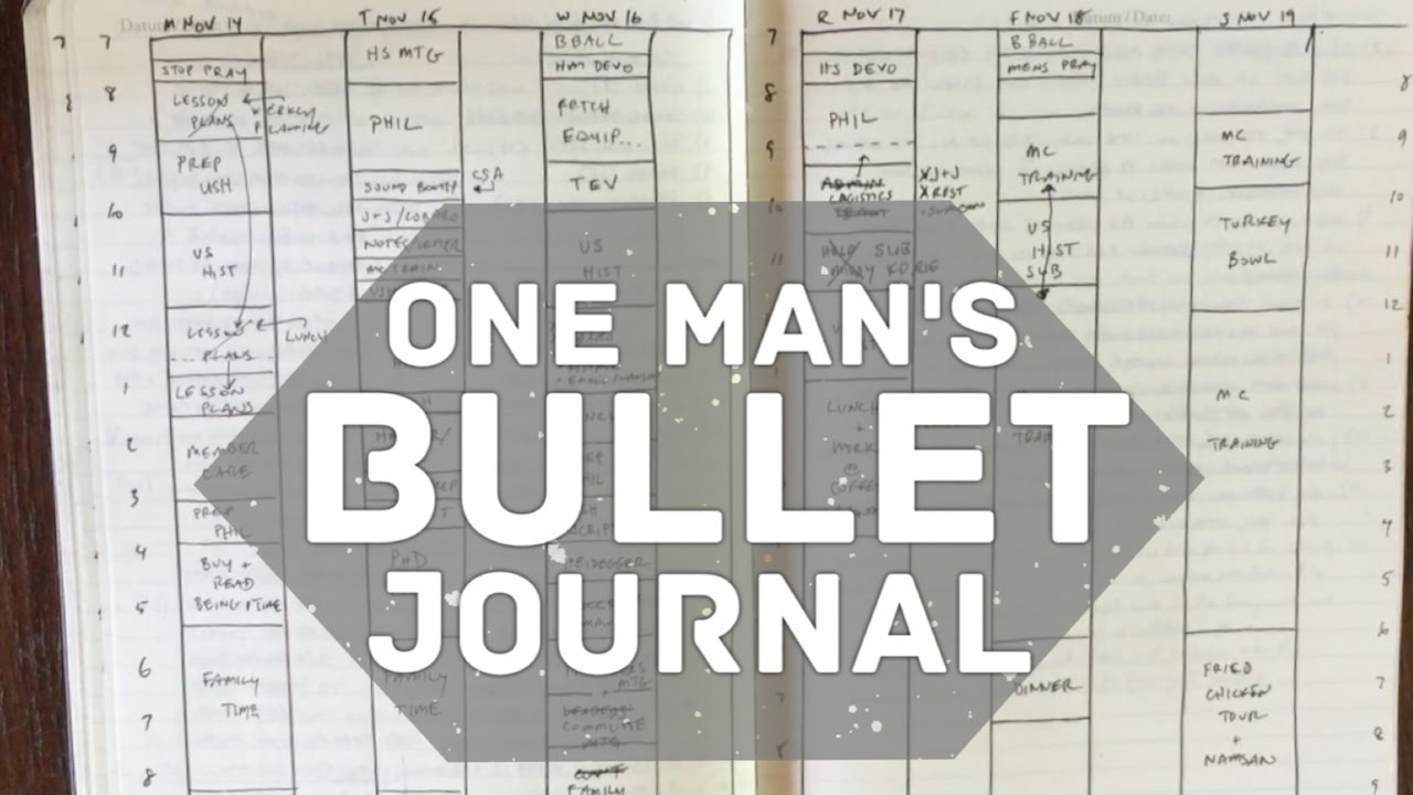 Megarainbowdash2000 S Journal: One Man's Bullet Journal