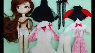 QUẦN ÁO VÀ TÓC BÚP BÊ BB GIRL- MỞ GÓI HÀNG TỪ BANGGOOD.COM- / Ami DIY