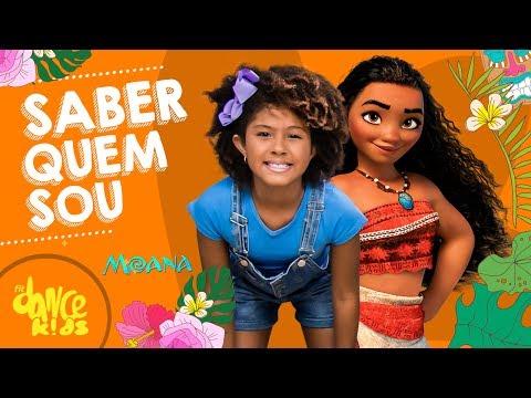 Saber Quem Sou De Moana - Any Gabrielly -  FitDance Kids Coreografía Dance