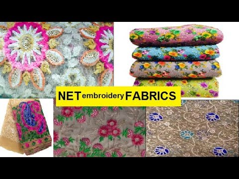 Buy Designer Net Fabric | textile market surat | होलसेल कपड़ा मार्केट सूरत | CHEAPEST FABRIC MARKET