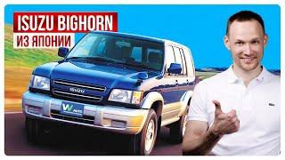 Обзор из Японии Isuzu Bighorn | купить авто из Японии | учет Абхазия | Япония трейд