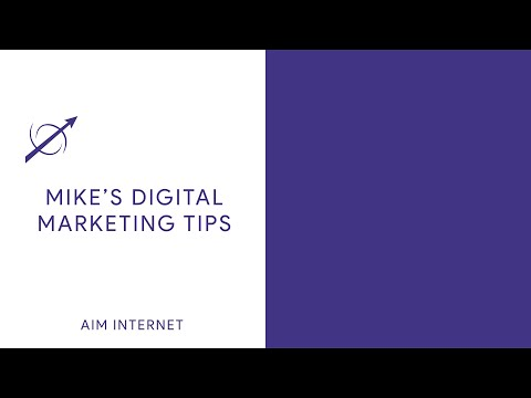 Digital Marketing Solutions To Get You Noticed Online Mike S Digital Marketing Tutorial Youtube