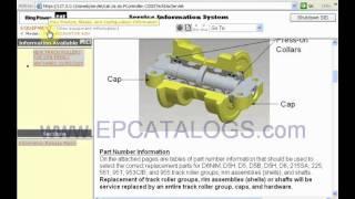 Caterpillar parts catalog