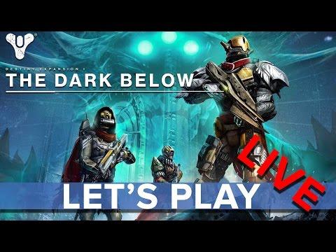 Destiny: The Dark Below DLC - Eurogamer Let's Play LIVE