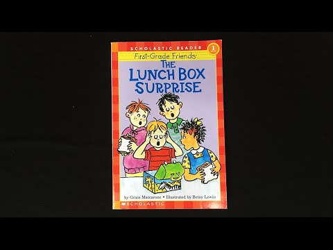 The Lunch Box Surprise, by Grace Maccarone & Betsy Lewin- a 3-Year-Old Review/Preview, by Kid Vids!