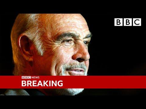Sean Connery: James Bond actor dies aged 90 🔴 @BBC News live - BBC