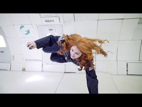 "I survived zero gravity in the ""Vomit Comet"""