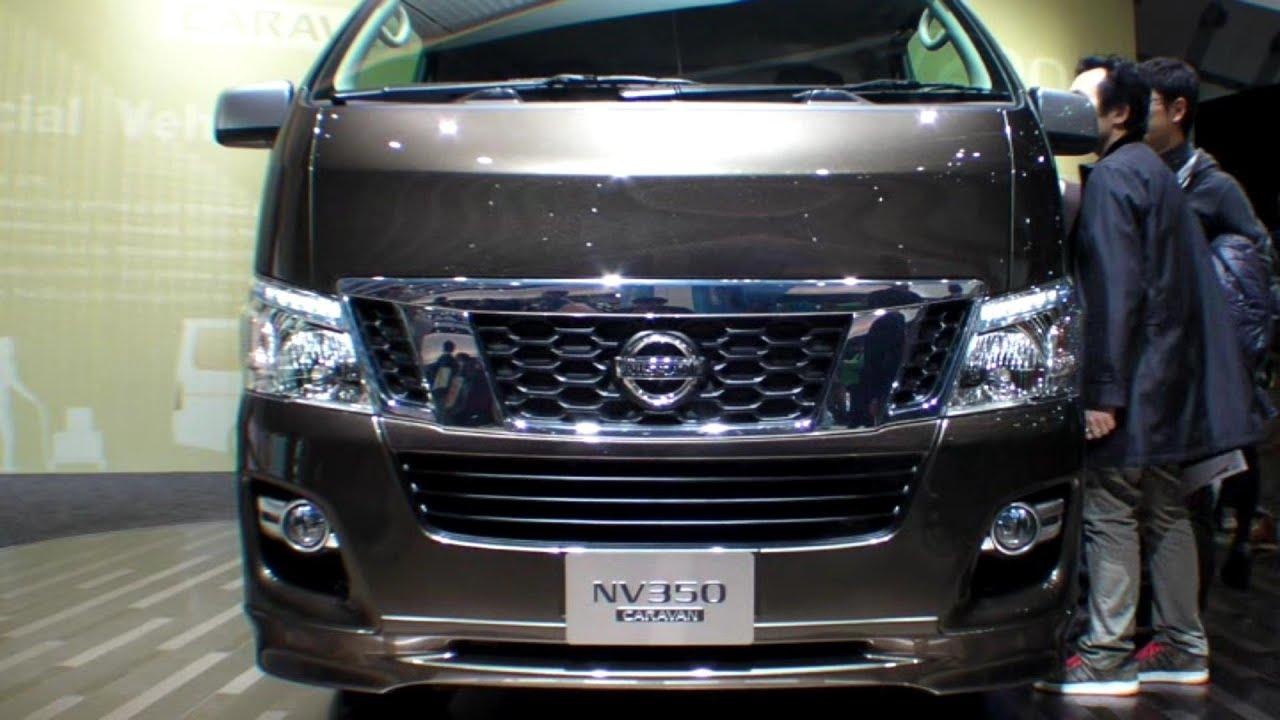 Nissan Nv350 Caravan Exterior Tokyo Motor Show
