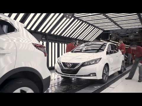Nissan Start European Production of 2018 LEAF