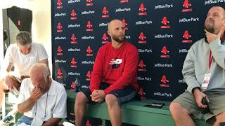 Dustin Pedroia says Red Sox could have handled Manny Machado, Dennis Eckersley better
