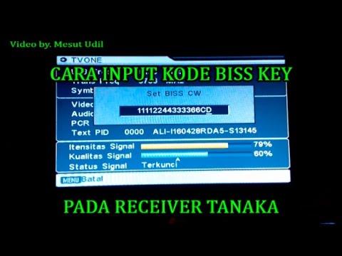 cara input biss key tanaka t21