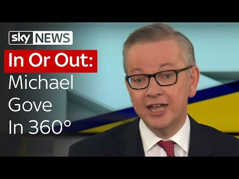 In Or Out: Michael Gove In 360