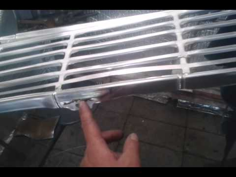 1963 ford falcon grille  Major repair restoration