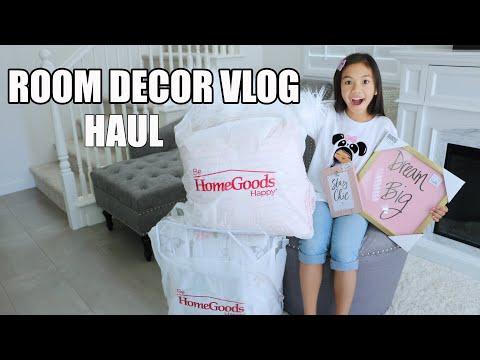 LET'S GO SHOPPING! Updated ROOM DECOR HAUL /VLOG