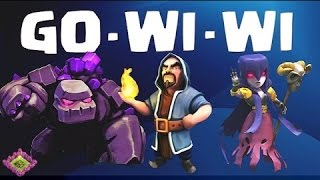 Clash of Clans GoWiWi Event (Golem, witch and wizard attack)
