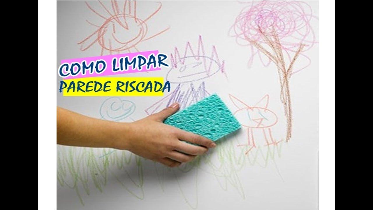 Artesanato De Palha Origem ~ Como tirar rabisco de lápis de cor da parede super fácil e rápido YouTube