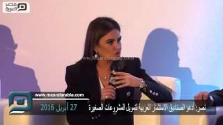 مصر العربية | نصر: أدعو الصناديق الاستثمار العربية لتمويل المشروعات الصغيرة