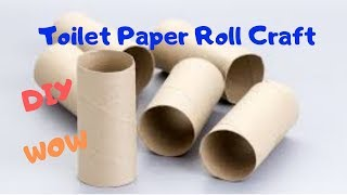 Toilet paper roll crafts | Waste material crafts and ideas| DIY |CrazeeCrafts