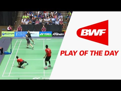 Play Of The Day   Badminton F - Yonex US Open 2017