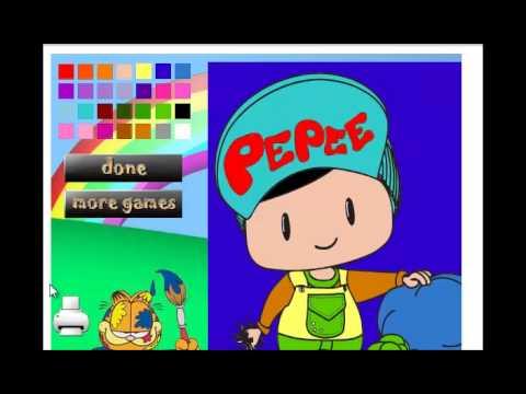 Pepee Boyama Oyunu Youtube
