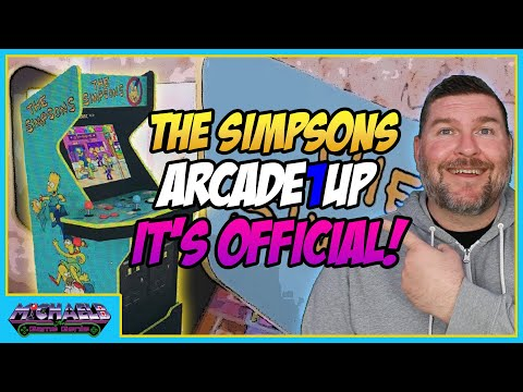 The Simpsons Arcade1Up Officially Announced from MichaelBtheGameGenie
