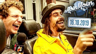 Wir cruisen im Cabrio durch Hamburg   MoinMoin mit Krogi & Andy