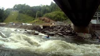 Ocoee River Hell Hole 7/14/12 - 7/15/12