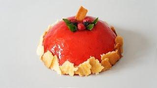 覆盆子慕斯 [郭昱均的糕點世界 Durant's Bakery]-第十三集 │Raspberry Mousse