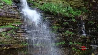 Minnewaska Waterfalls from the Air  - Drone footage from adventure travel upstate NY