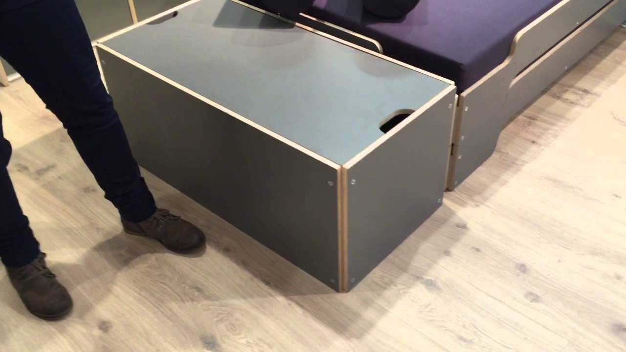 Bettkasten Fur Die Stapelliege Design Rolf Heide