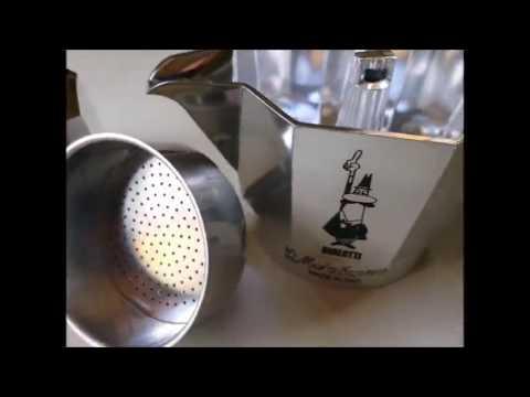 Bialetti moka express cafetera espresso para 3 tazas color plata youtube - Cafetera moka ...