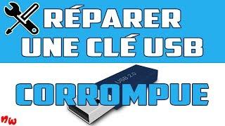 RÉPARER une clé USB & RÉCUPÉRER des fichiers corrompus!