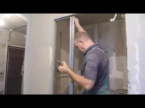 Как нарастить стену из гипсокартона