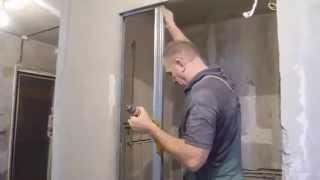 Наращиваем стену гипсокартоном ч.1(В ролике показан способ,с помощью которого можно легко продлить или наростить перегородку или стену гипсок..., 2015-03-18T05:43:19.000Z)