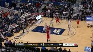 #6 Syracuse vs Connecticut 02/13/13 (Full Game)