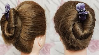 Awesome juda Hairstyles using Clutcher | Everyday Hairstyles | Bun Hairstyles | easy hairstyle