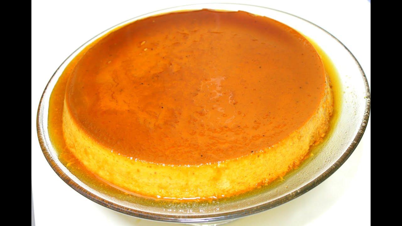 pumpkin custard with evaporated milk