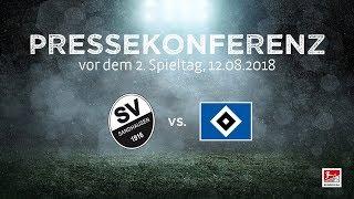 2. Spieltag   Pressekonferenz vor dem Spiel SV Sandhausen - Hamburger SV