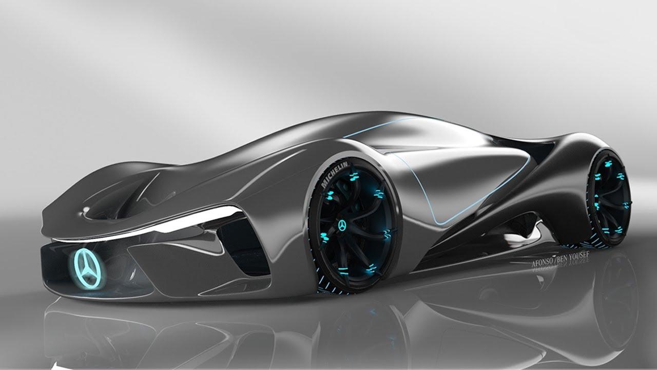 Mercedes Benz C111 Future Vision 2025 Concept Youtube