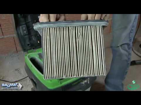 2 PES Filter waschbar Faltenfilter Filterset für Eibenstock DSS 1225 DSS 1250
